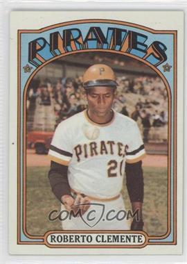 1972 Topps #309 - Roberto Clemente