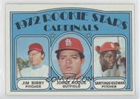 Rookie Stars Cardinals (Jim Bibby, Jorge Roque, Santiago Guzman)