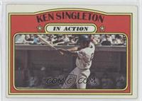 Ken Singleton In Action