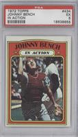 Johnny Bench (In Action) [PSA 5]