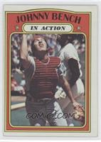 Johnny Bench (In Action)