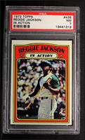 Reggie Jackson (In Action) [PSA 7]