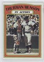 Thurman Munson In Action