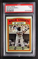 Willie Stargell (In Action) [PSA 7]