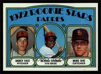 Rookie Stars Padres (Darcy Fast, Derrel Thomas, Mike Ivie) [NM]