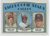 Rookie Stars Padres (Darcy Fast, Derrel Thomas, Mike Ivie)