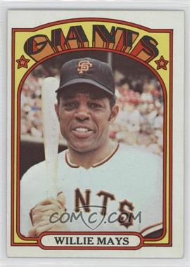 1972 Topps #49 - Willie Mays