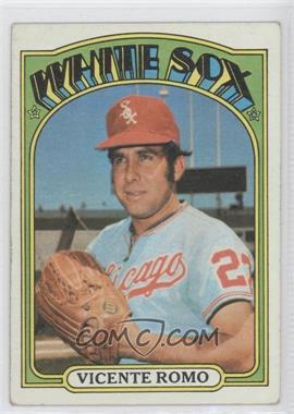 1972 Topps #499 - Vicente Romo