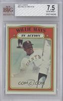 Willie Mays In Action In Action [BVG 7.5]