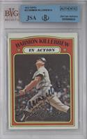 Harmon Killebrew In Action [BVG/JSA Certified Auto]