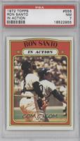 Ron Santo (In Action) [PSA 7]