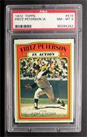 Fritz Peterson (In Action) [PSA8]