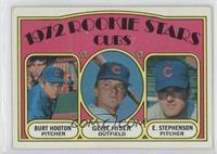 Rookie Stars Cubs (Burt Hooton, Gene Hiser, Earl Stephenson)