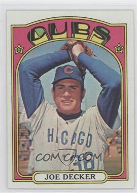 1972 Topps #612 - Joe Decker