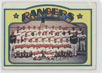 Texas Rangers Team [Poor to Fair]