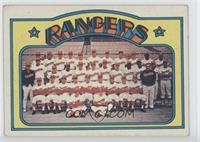 Texas Rangers Team