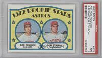 Rookie Stars Astros (Bob Fenwick, Bob Stinson) [PSA7]