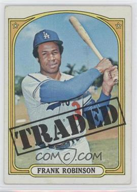 1972 Topps #754 - Frank Robinson