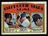 Rookie Stars A.L.-N.L. (Ben Oglivie, Ron Cey, Bernie Williams) [EX MT]