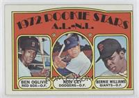 Rookie Stars A.L.-N.L. (Ben Oglivie, Ron Cey, Bernie Williams)