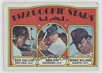 Rookie Stars A.L.-N.L. (Ben Oglivie, Ron Cey, Bernie Williams) [Poor to&nb…