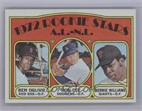 Rookie Stars A.L.-N.L. (Ben Oglivie, Ron Cey, Bernie Williams) [Mint]