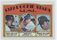 Rookie Stars A.L.-N.L. (Ben Oglivie, Ron Cey, Bernie Williams) [Good to&nb…