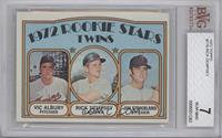 Rookie Stars Twins (Vic Albury, Rick Dempsey, Jim Strickland) [BVG7]