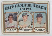 Rookie Stars Twins (Vic Albury, Rick Dempsey, Jim Strickland) [Poor to&nbs…