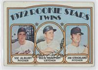 Rookie Stars Twins (Vic Albury, Rick Dempsey, Jim Strickland) [Good to&nbs…