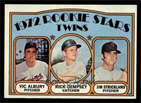 Rookie Stars Twins (Vic Albury, Rick Dempsey, Jim Strickland) [NM MT]