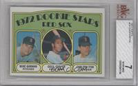Red Sox Rookie Stars (Mike Garman, Cecil Cooper, Carlton Fisk) [BVG 7]