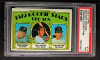 Red Sox Rookie Stars (Mike Garman, Cecil Cooper, Carlton Fisk) [PSA 7]