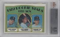 Red Sox Rookie Stars (Mike Garman, Cecil Cooper, Carlton Fisk) [BVG 8.5]
