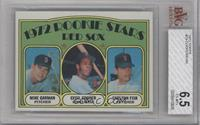 Red Sox Rookie Stars (Mike Garman, Cecil Cooper, Carlton Fisk) [BVG 6.5]