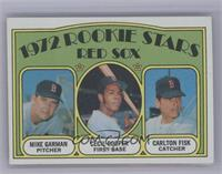 Red Sox Rookie Stars (Mike Garman, Cecil Cooper, Carlton Fisk) [NearMint]