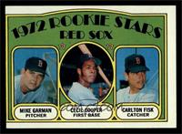 Red Sox Rookie Stars (Mike Garman, Cecil Cooper, Carlton Fisk) [VG]