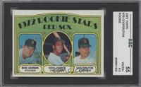 Red Sox Rookie Stars (Mike Garman, Cecil Cooper, Carlton Fisk) [SGC 55]