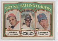 1971 N.L. Batting Leaders (Joe Torre, Ralph Garr, Glenn Beckert) [Goodto&…