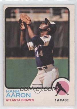 1973 O-Pee-Chee #100 - Hank Aaron