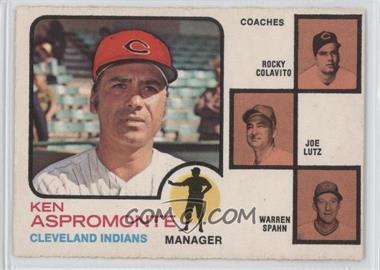 1973 O-Pee-Chee #449 - Ken Aspromonte