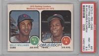 Billy Williams, Rod Carew [PSA 8.5]