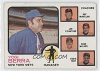 Mets Coaches (Yogi Berra, Roy McMillan, Joe Pignatano, Rube Walker, Eddie Yost)…