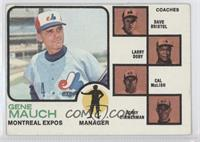 Expos Coaches (Gene Mauch, Dave Bristol, Larry Doby, Cal McLish, Jerry Zimmerma…