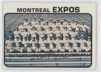 Montreal Expos Team