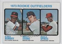 1973 Rookie Outfielders (Alonza Bumbry, Dwight Evans, Charlie Spikes)
