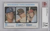 1973 Rookie Third Basemen (Ron Cey, John Hilton, Mike Schmidt) [BVG7.5]