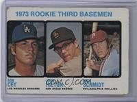 1973 Rookie Third Basemen (Ron Cey, John Hilton, Mike Schmidt) [Poor]