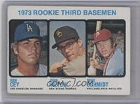 1973 Rookie Third Basemen (Ron Cey, John Hilton, Mike Schmidt) [Good to&nb…