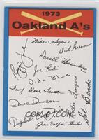 Oakland Athletics Team